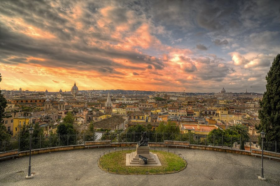 Terrazza del Pincio Overlooking Rome | The Eternal City (Rome ...
