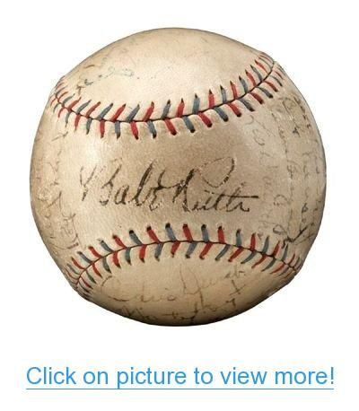 1929 Ny Yankees Team Signed Baseball Autographed Babe Ruth Lou Gehrig Psa Dna Yankees Team Lou Gehrig Babe Ruth