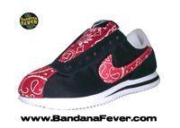 Nike Cortez Red Bandana