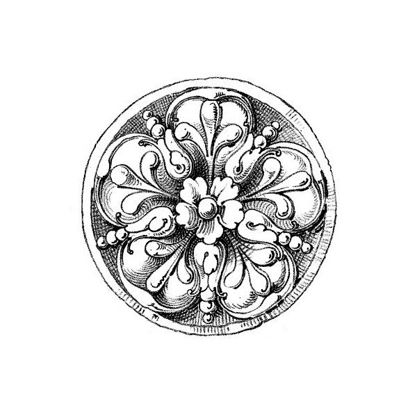 The Graphics Fairy LLC*: Antique Print Ornament ❤ liked on Polyvore ...