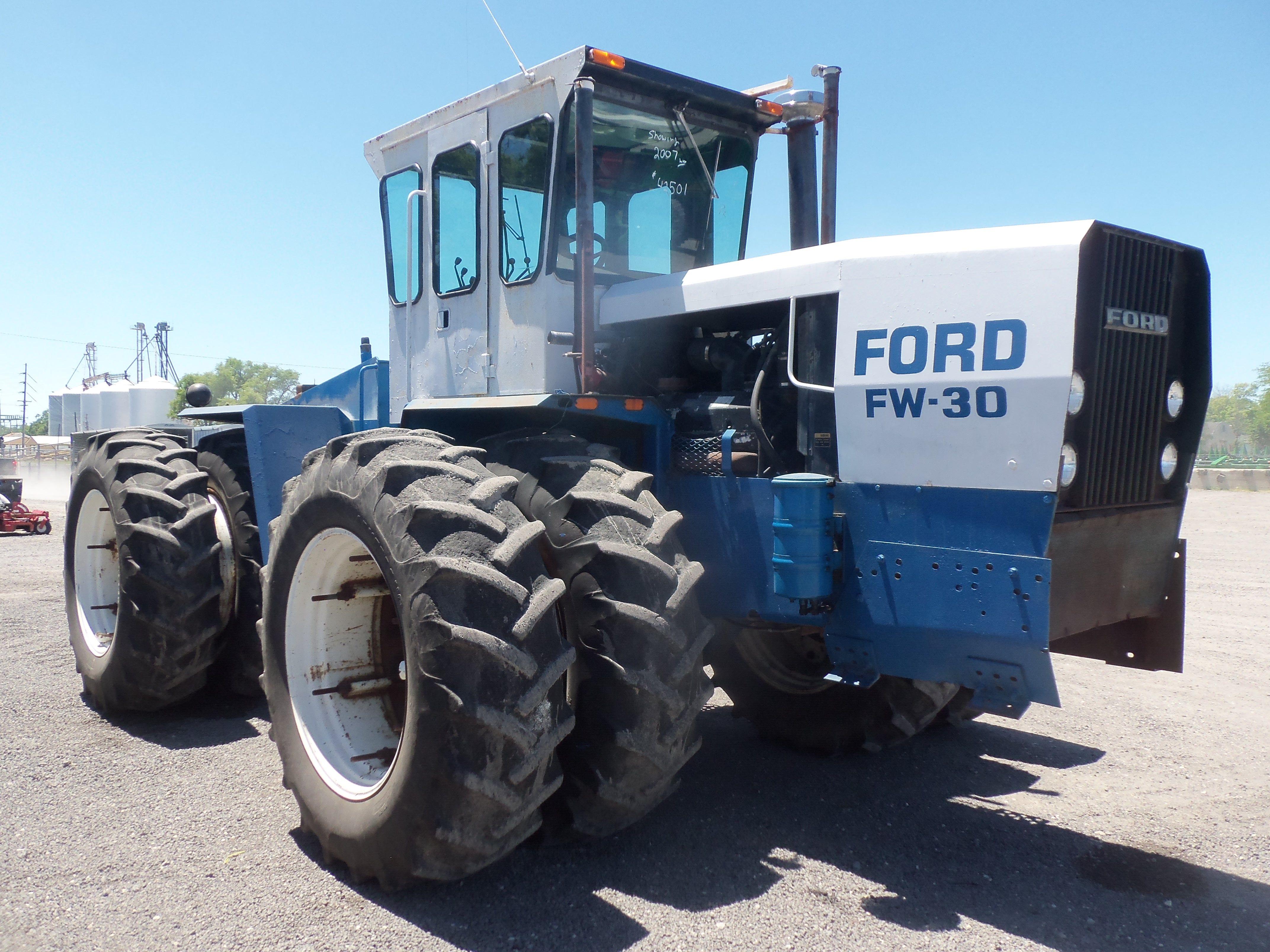 Ford Fw 30 4wd Tractor Tractors Ford Tractors Big Tractors