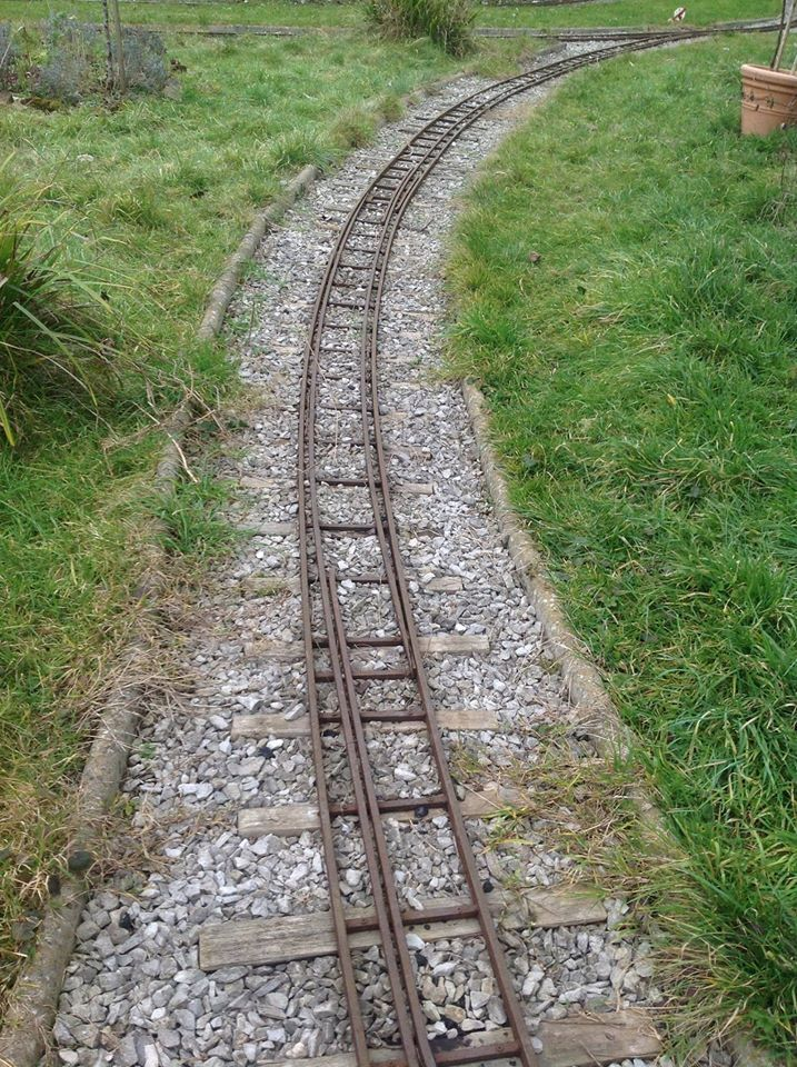 Dual gauge track swapping the common rail, 5