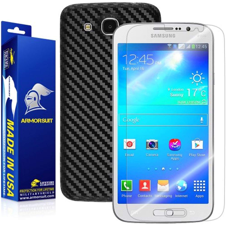 ArmorSuit MilitaryShield Samsung Galaxy Mega 5.8 Black