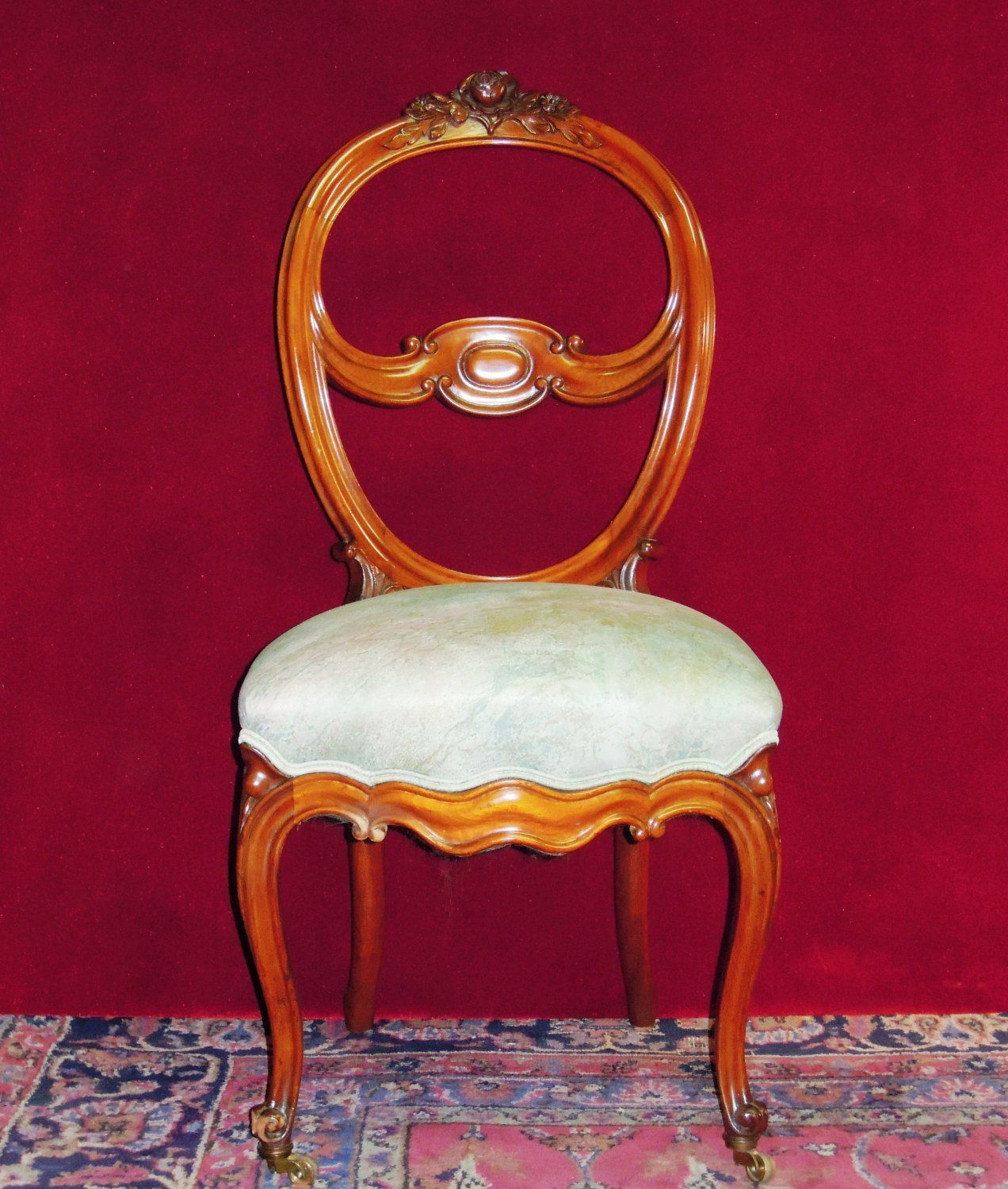 Queen Anne Parlor Chair Shaby Chic Pinterest Queen
