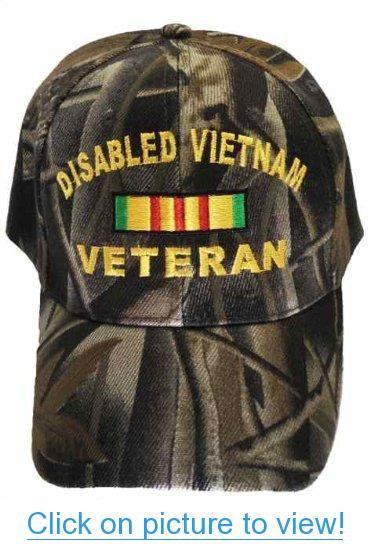 e8a4d390625 Disabled Vietnam Veteran Cap