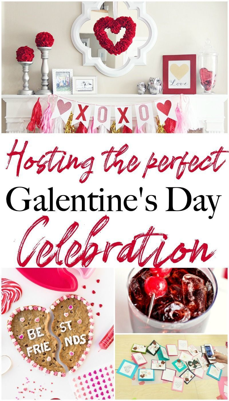 Hosting the Perfect Galentine's Day Celebration for Valentine's Day Valentine day nails