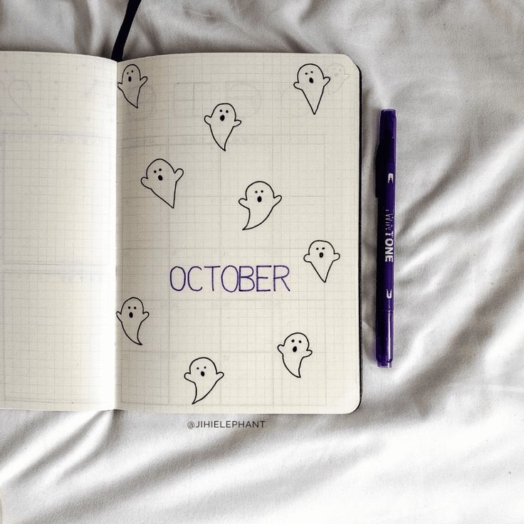 100+ Bullet Journal Theme Ideas by Month #novemberbulletjournalcover