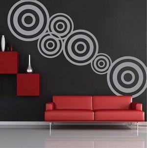 Modern Design Wall Decal Stickers Trendy Designs