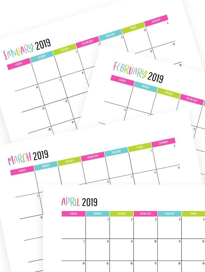 Free Printable Calendars 2020 (with dates) Calendar app