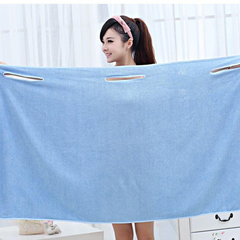 Albornoz toalla de ba o m gica colorida para los ni os y - Toalla albornoz ...
