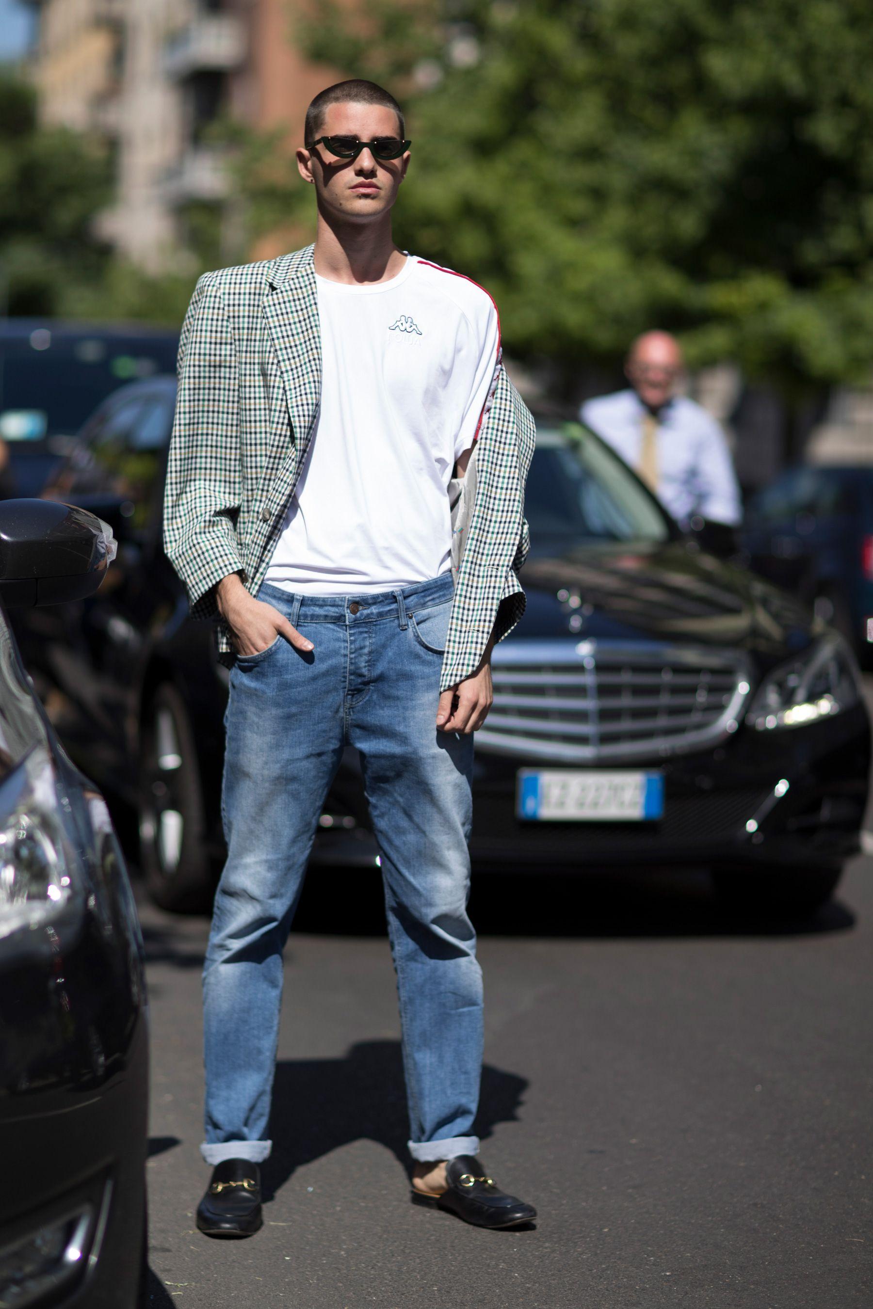 Fashion · Milan Fashion Week Men\u0027s Street Style Spring 2018