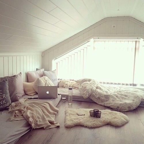 Nice Attic Hangout Chill Room Home Home Decor
