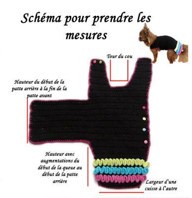 TUTO MANTEAU POUR CHIEN AU CROCHET TOUTES TAILLES #dogcrochetedsweaters