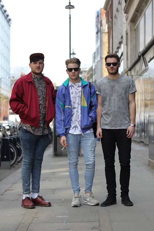Pin By Nehemiah On Casual 80s Fashion Men Mens Street Style 80s Outfit