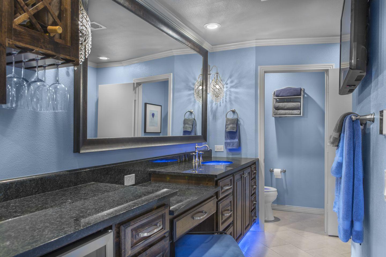 Master Bathroom Addition With Led Accent Lights Homeremodeling