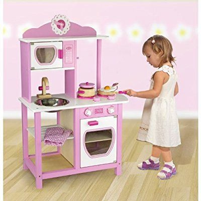 Viga Kitchen Princess Wooden Toy