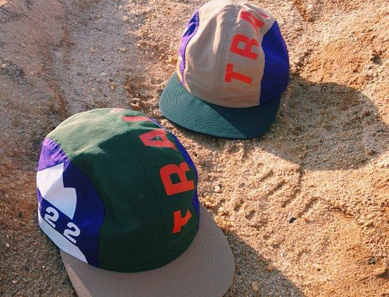 KT-22 TRAIL 4 Panel Cap Preview by THE DECADES  96c470a9bb14