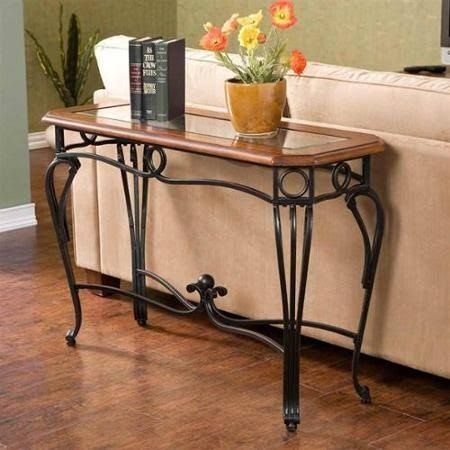 Iron Wrought Sofa Table