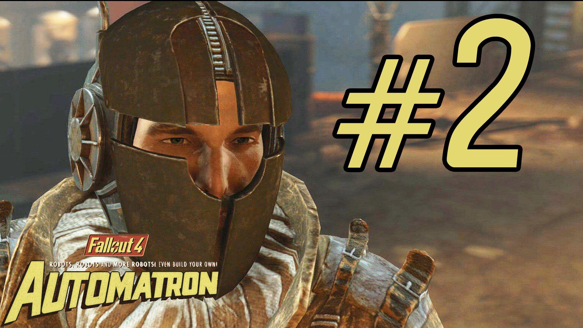 Fallout 4 Automatron DLC Gameplay ITA Walkthrough #2 - Una Nuova Minacci...