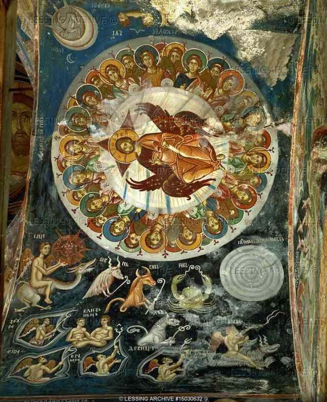 Religious Tapestry Wall Hanging Orthodox Catholic Icons
