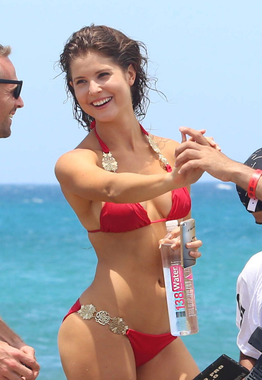 Amanda Cerny Bikini Photoshoot On The Set Of A Music Video In