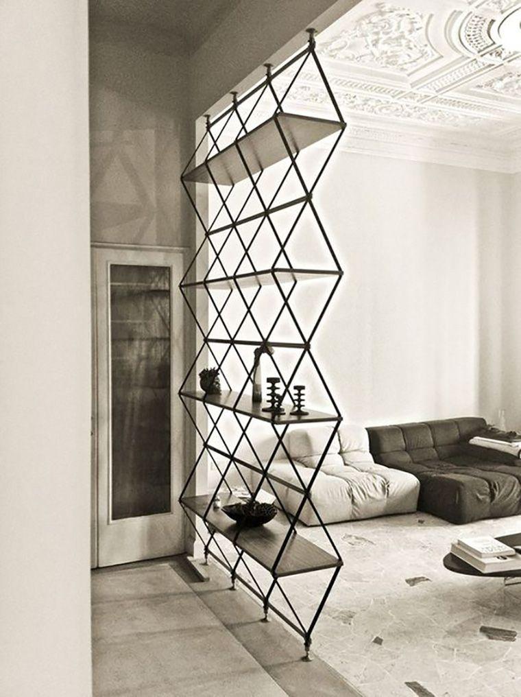 Prismas e formas triangulares na decoração Interiors, Decoration