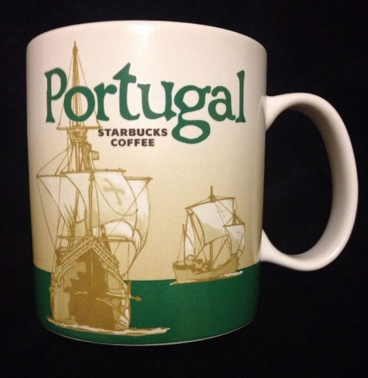 City Starbucks Mug Sail Explorer Portugal Icon Collector Coffee New f76IgvbYy