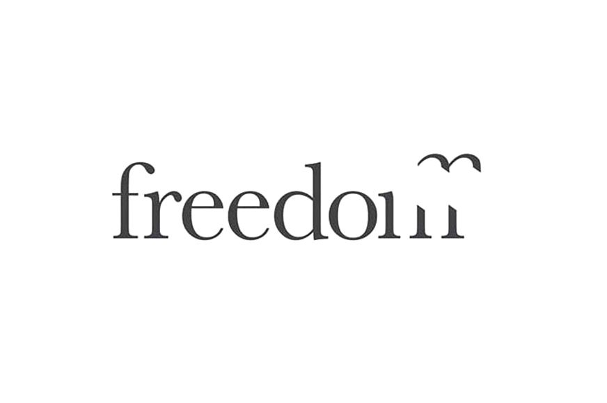 Freedom logo designed by The Chase | {action} | Pinterest | Schrift ...