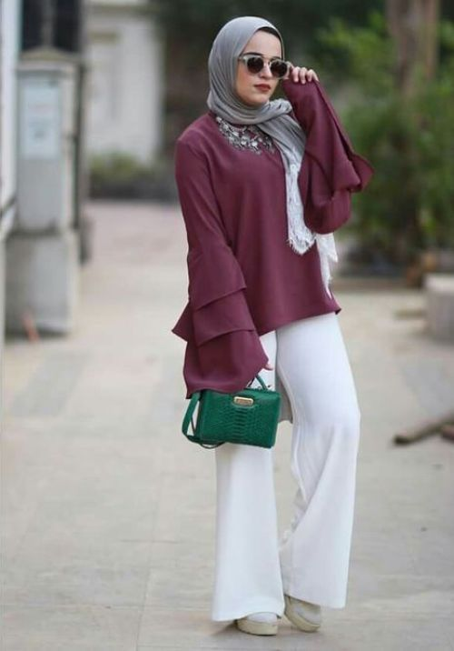 Image result for blouse  hijab