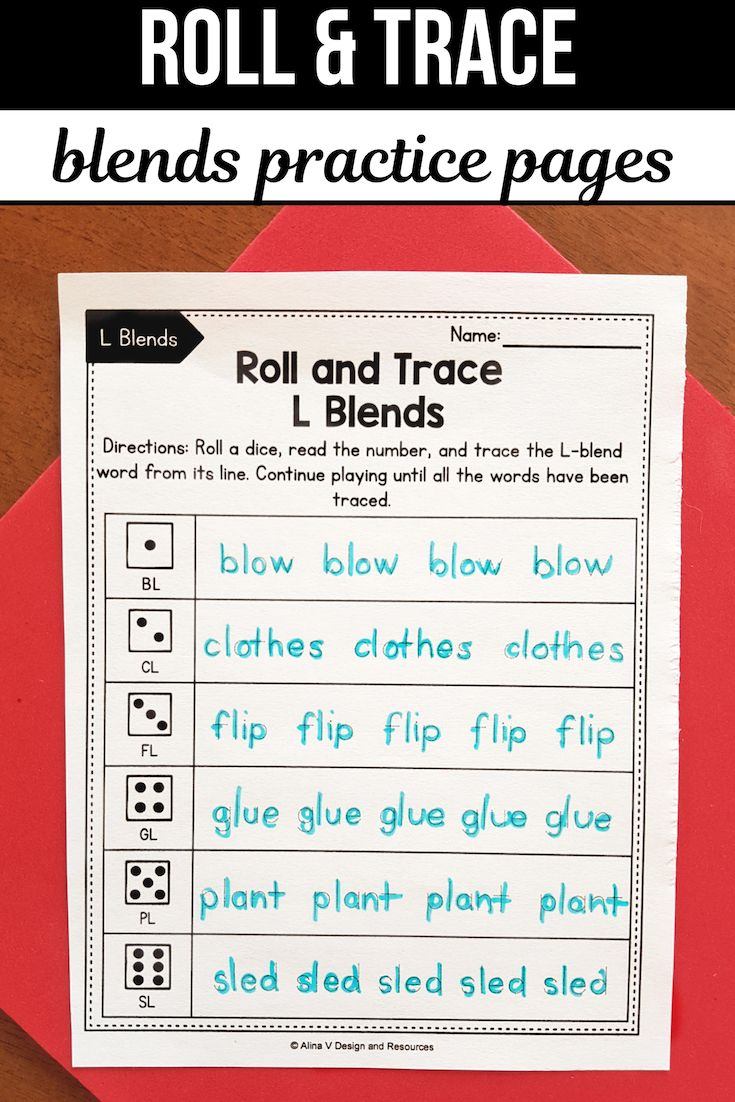 Worksheets R Blends Worksheets r blends worksheets l activities roll and trace looking for some beginning phonics your