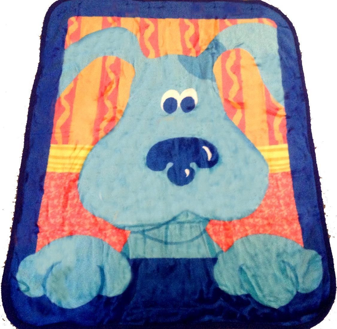 awesome Blues Clues blanket bedding 50x60 PLUSH FREE SHIPPING ...