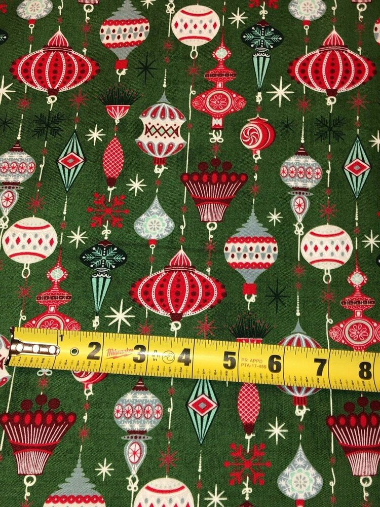 Moda Kringle Claus 100 Cotton Fabric By The Yard Christmas