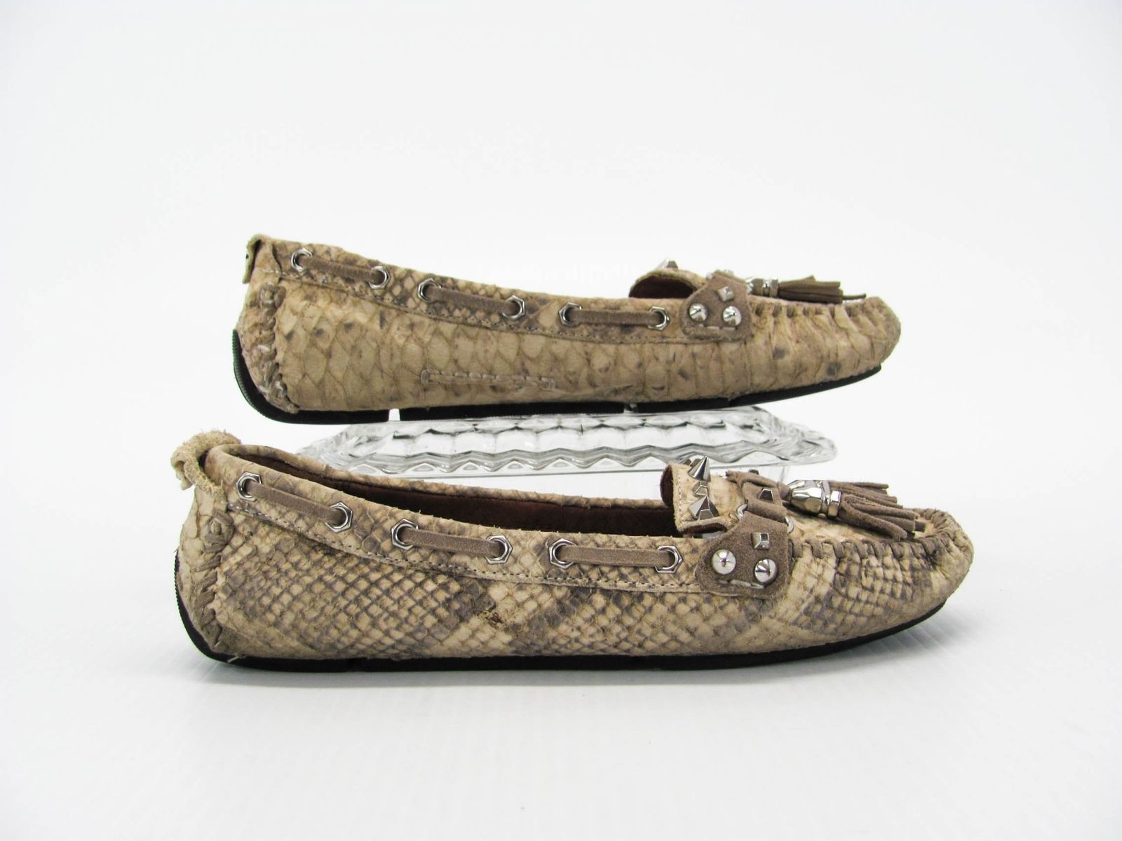 eb34eed99c6d8 34.95 ❤ Sam Edelman Jalen Women Brown Loafer Flats Shoes Size 6.5M Pre Owned