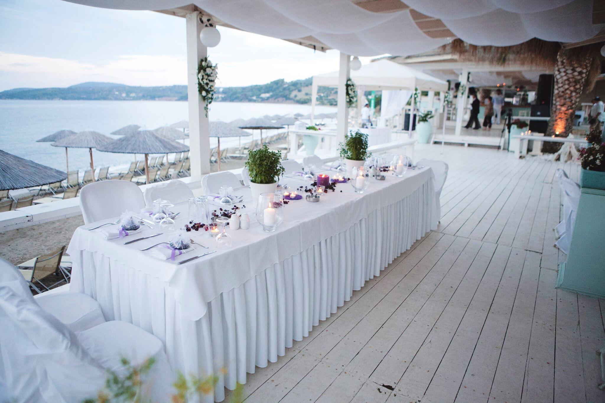 Wedding On A Beach Bar Greek Weddings Destination In Greece