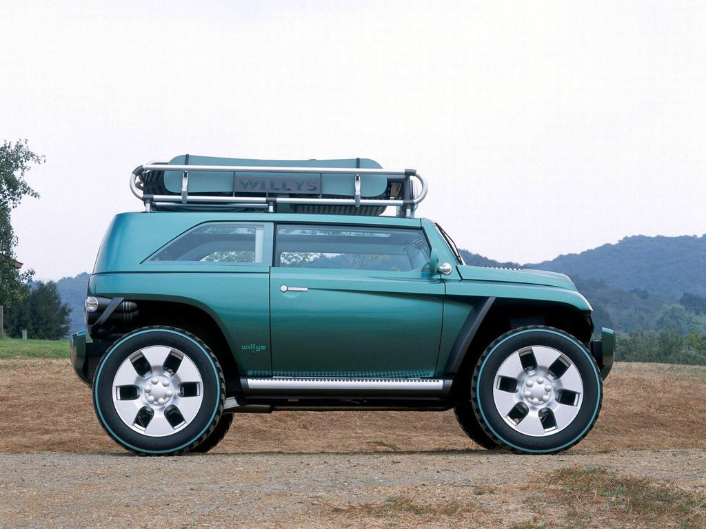 2001 Jeep Willys 2