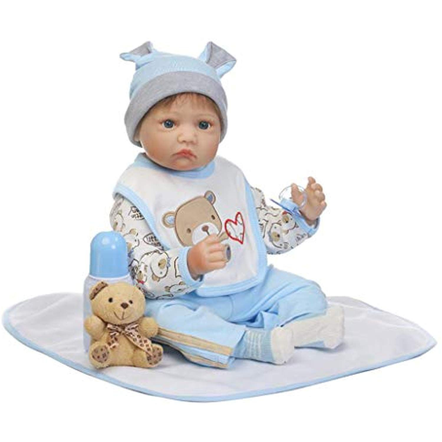 """Lifelike Reborn bebe Doll Clothes For 22/"""" Newborn Doll Baby Christmas Clothing"""