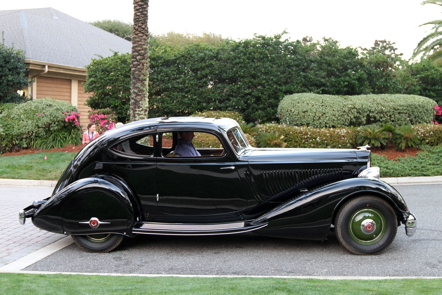 1934 Packard Twelve Series 1106 LeBaron Aero Coupe