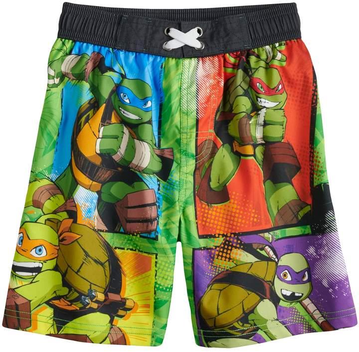 1c40f710759e7 Boys 4-7 Teenage Mutant Ninja Turtles Swimming Trunks in 2019 ...