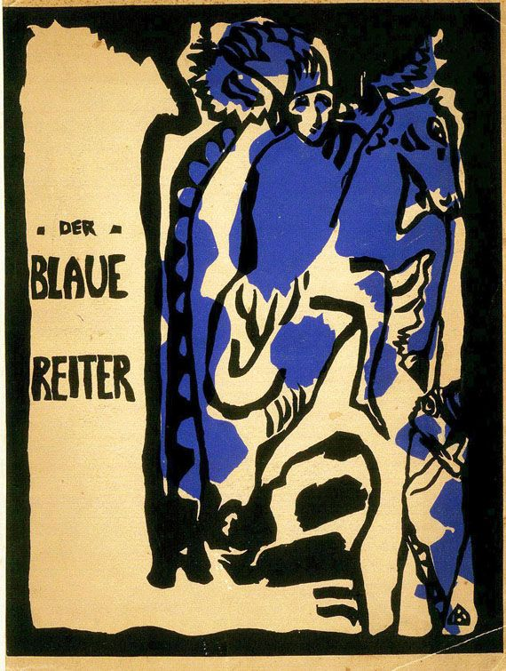 Der Blaue Reiter Almanach Blauer Reiter Wassily Kandinsky Kandinsky