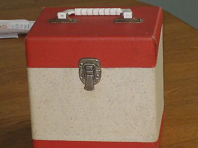 Vintage 7 Quot 45 Rpm Record Storage And Carry Case Triad