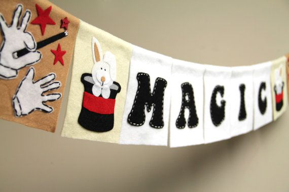 Magic Show Theme and Ideas for a Party!! | Themed parties ...