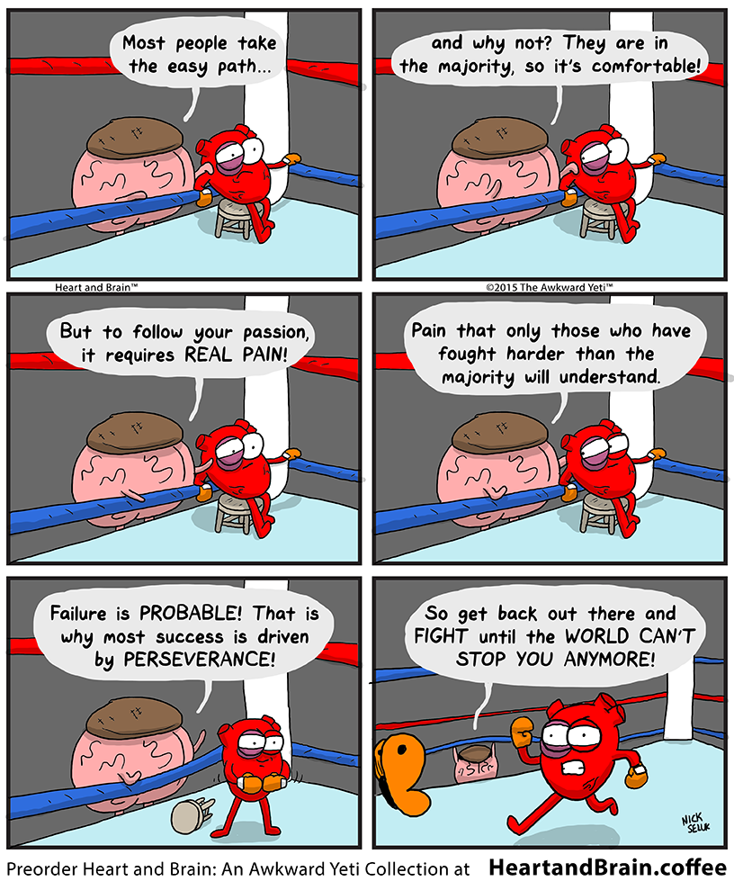"""the Boxer"" 12""x16"" Poster Print – The Official Awkward Yeti Store - theAwkwardStore.com"