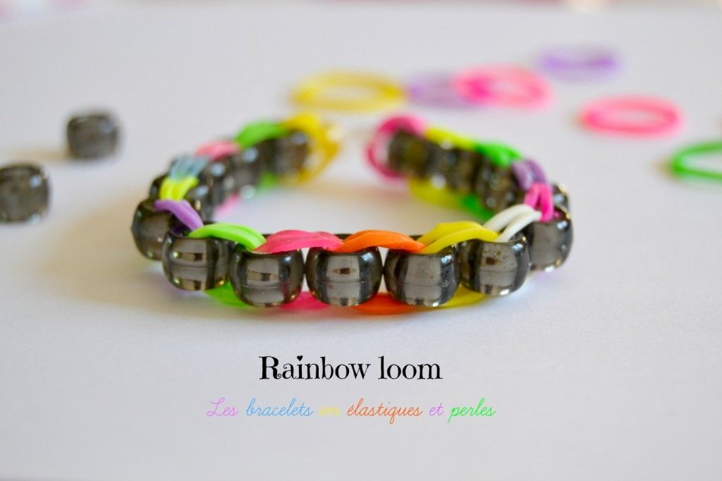 comment faire un bracelet elastique wonder loom bijoux la mode. Black Bedroom Furniture Sets. Home Design Ideas