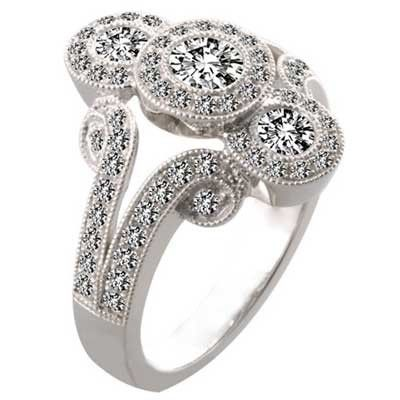 """""""An #anniversary is a time to celebrate the joys of today, the memories of yesterday, and the hopes of tomorrow."""" – #gift your wife this beautiful #ring on your anniversary."""
