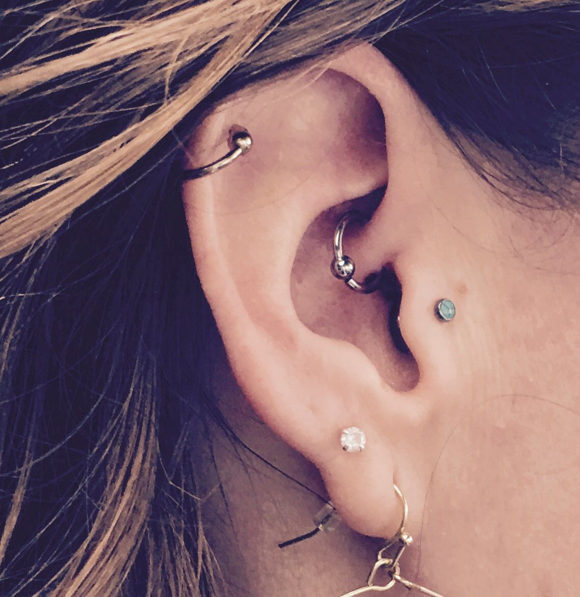 daith ear piercing jewelry daith tragus and helix piercing piercings 3630