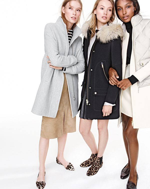 d325e241f59 J.Crew women s stadium-cloth cocoon coat