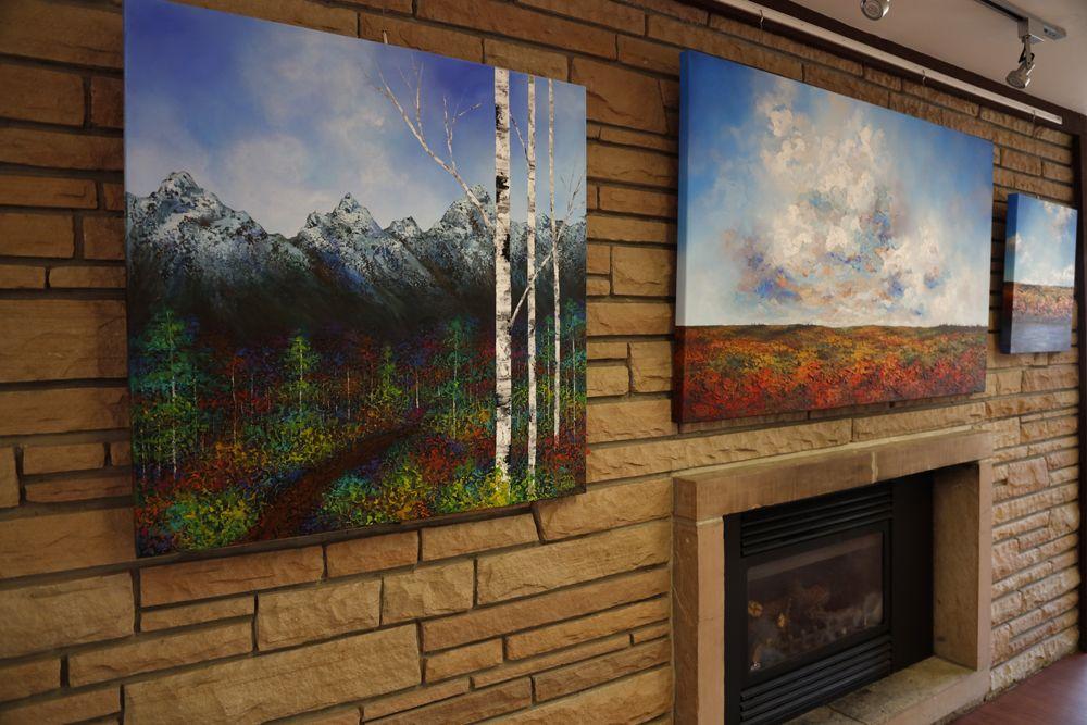 MELISSA MCKINNON Contemporary Abstract Landscape Artist features
