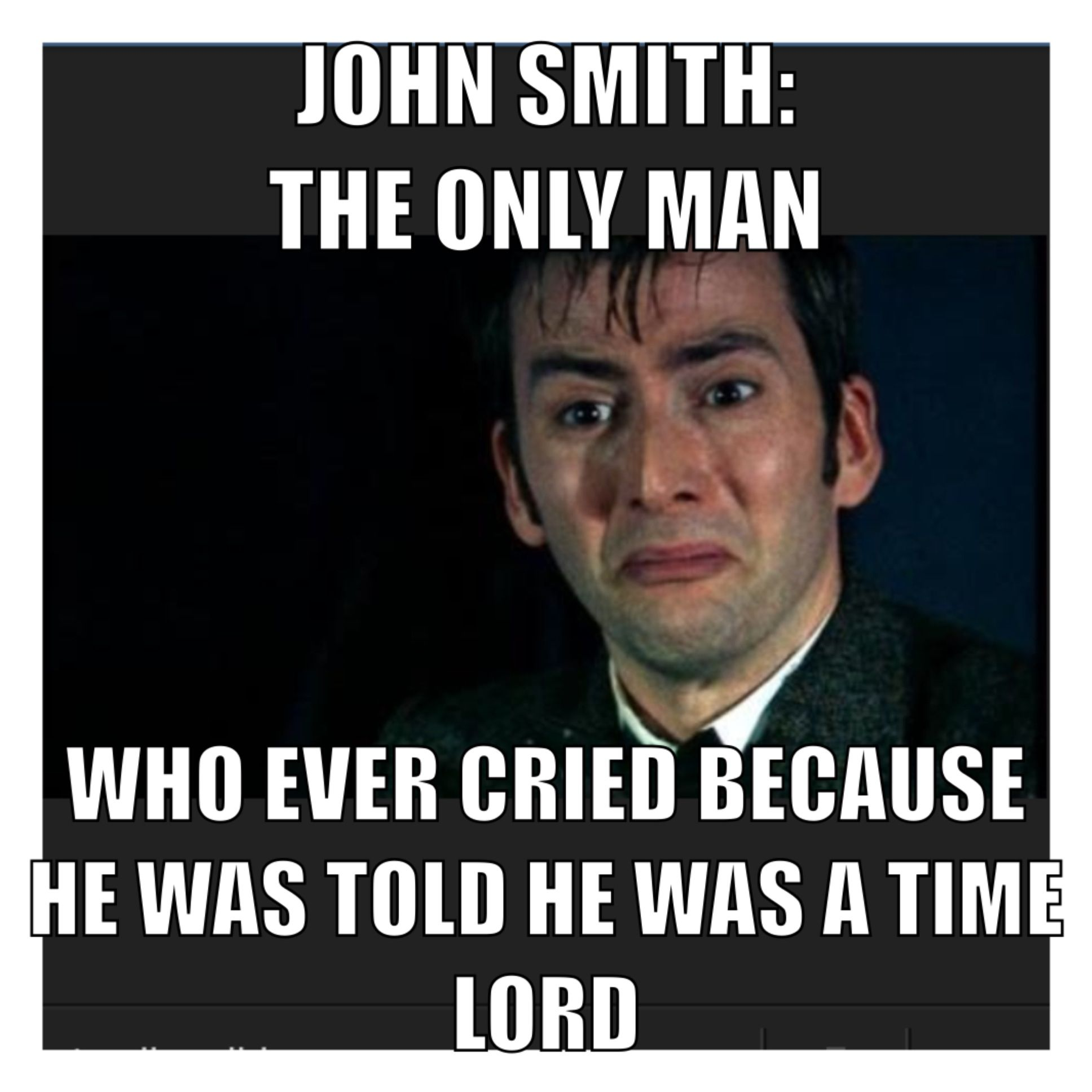 Doctor who meme tenthdoctor johnsmith