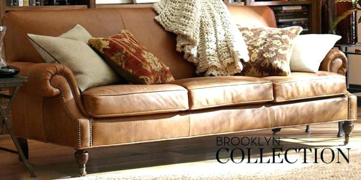 Pottery Barn Leather Sleeper Sofa Painting A Furniture Reviews Buchanan Sofas Bed