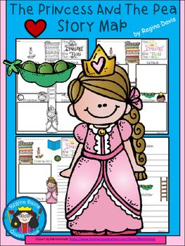 A princess and the pea fairy tale story maps fairy princess and princess and the pea fairy tale story maps publicscrutiny Image collections